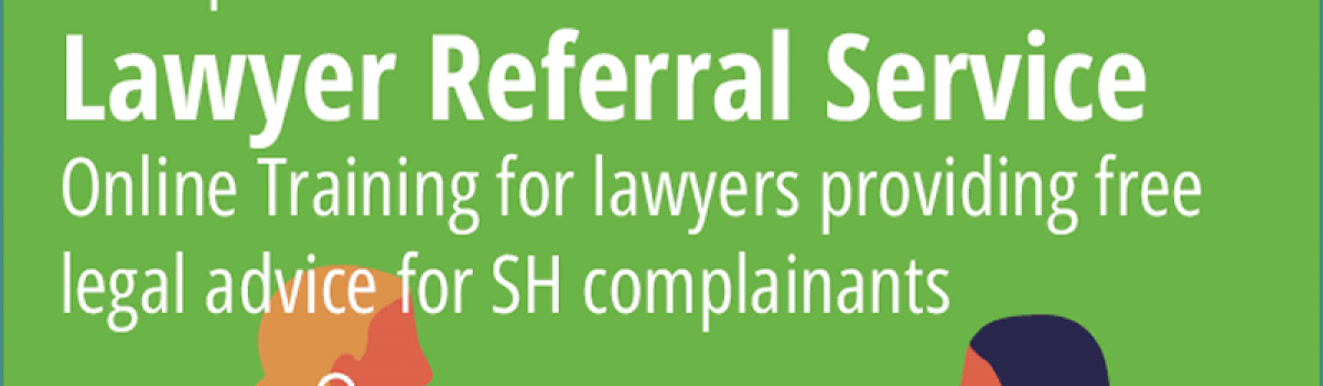 Lawyer Referral Service Training